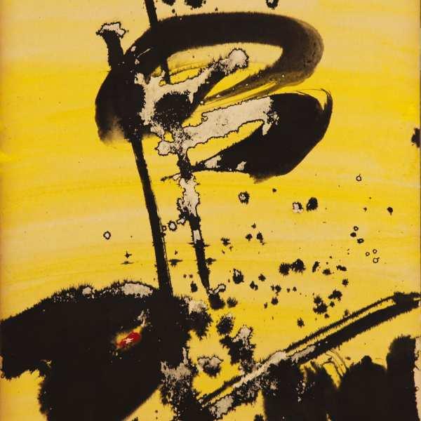無題,1969年,水墨 水彩 Kyro卡紙