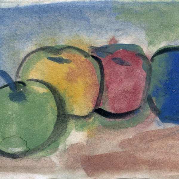 無題,1960年代,水彩 和紙