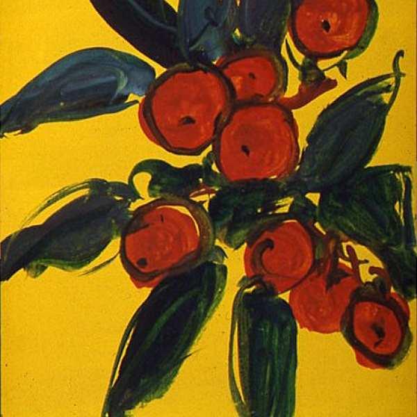 無題,1950年代,水彩 卡紙