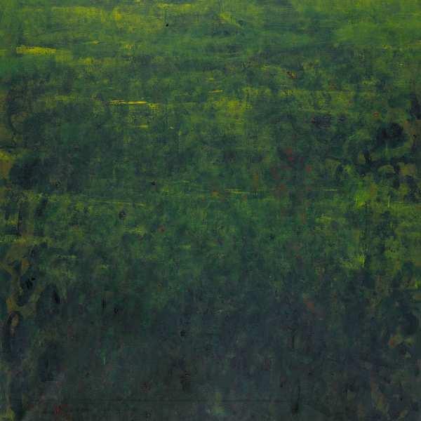 無題 (綠色景觀),1966年,油彩 畫布,100x81cm